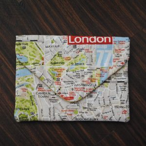 Map of London Laptop Case - Front