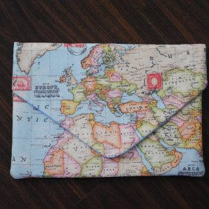 Map of the World Laptop Case - Front